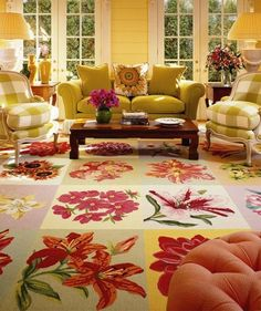 love this whole room ~ colors and everything