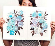 Gabriela Ibarra illustreert voor Home and Garden