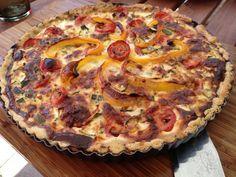 Sommerliche Quiche  Freunde am Kochen Parmesan, Hawaiian Pizza, Quiche, Pie, Desserts, Food, Friends, Cooking, Torte