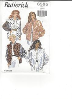 Butterick 6595 sizes XS-S-M UNCUT by SewingasaHobby on Etsy