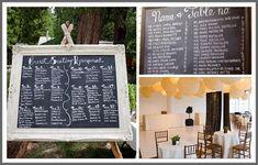 chalboard menus