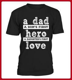 Dad A Sons First Hero - Shirts für onkel (*Partner-Link)