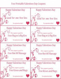 free printable valentines day coupons everything