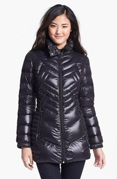 Bernardo Packable Goose Down Jacket with Hidden Hood (Regular & Petite) (Nordstrom Exclusive) | Nordstrom