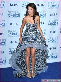 Wow a really beautiful mullet dress!  Selena Gomez Dresses | Original Print Selena Gomez Dress
