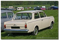 Vauxhall Viva HA rear - Vauxhall Viva HA.  309,000 HA Vivas were sold 1963-66, a great success for this rather simple car