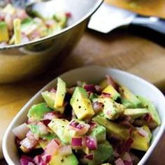 Avocado And Lime Salsa from Donal Skehan, found @Edamam!