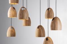 Oak lighting - Ross Gardam