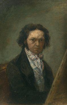 """Prado """"Autorretrato"""", de Francisco de Goya y Lucientes (1796 - 1797):"""
