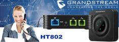 Grandstream ATA Dubai - Support 2 fxs Ports and 2 SIP Accounts Caller Id, Telephone, Dubai, Connection, Phone
