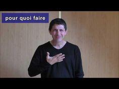Didactique de la langue des signes - YouTube