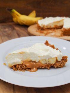 banofee pie torta de banana e doce de leite