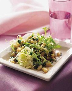 ... bean and frisee salad flageolet beans and frisee salad 4 saves