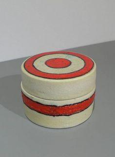 Guido Gambone; Glazed Ceramic Box, c1954.
