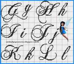 Monograma lindo da talentosa Melina Lupa, obrigada querida por compartilhar seus talentos! beijinhos!