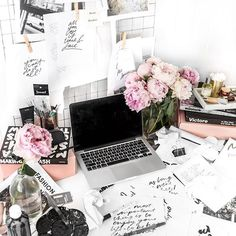 Just add peonies. It will trick people into thinking your mess is pretty. This…