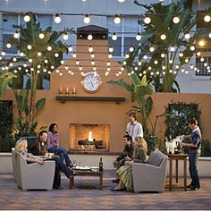 Fall's Best Outdoor Spaces   Outdoor Living Room   SouthernLiving.com