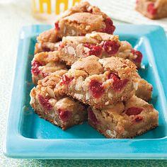 Raspberry Blondies #recipe