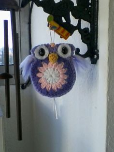 Búho crochet Gracias por todos los patrones gratuitos ♥