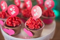Decoração infantil tema Corações / Decoration Party Heart