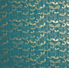 MissPrint Saplings wallpaper available to buy online. Missprint Saplings turquoise wallpaper at best online price. Order today for quick delivery. Teal And Gold Wallpaper, Turquoise Wallpaper, Lit Wallpaper, Wallpaper Online, Pattern Wallpaper, Accent Wallpaper, Beautiful Wallpaper, Retro Wallpaper, Modern Wallpaper
