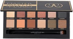 Anastasia Beverly Hills Master Palette by Mario is a special edition eye shadow collection created with celebrity make-up artist Mario Dedivanovic. The palette contains twelve neutral and jewel-toned shades in a range of matte to metallic finishes.