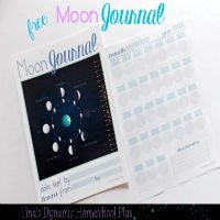 Free Moon Journal For Homeschool Science