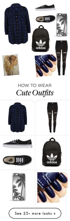 """My First Polyvore Outfit"" by laura-tomlinson-i on Polyvore featuring Vans, Zero Gravity, River Island, adidas Originals, women's clothing, women's fashion, women, female, woman and misses"