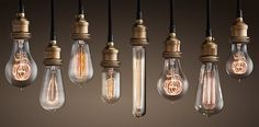 Light It Up Where To Get Everything You Need for Your DIY Lighting Projects is part of Vintage light bulbs - Cords, bulbs, sockets, and more! Vintage Lighting, Light, Light Bulb, Decorative Light Bulbs, Light Project, Ceiling Lamp Shades, Pendant Light, Retro Pendant Lights, Edison Lighting