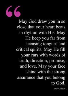 ........you belong to God.