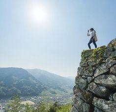 Tsuwano castle ruins - #Tsuwano, Japan