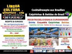 Receitas de Caipirinhas & Batidas de Frutas (drinks) - Português, Língua Estrangeira-PLE