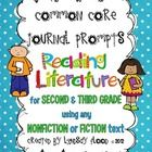 Common Core Journal PromptsReading LiteratureThanks for checking out my Common Core Reading Journal Prompts! There are 33 journal prompts to use...