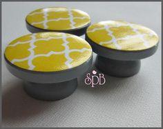 Moroccan Style Knobs Quatrefoil Knobs door SweetPetitesBoutique