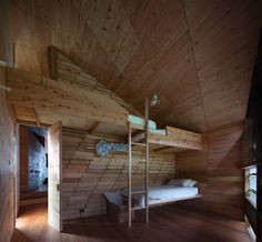 Small Space Living: A Shearers Cottage in Australia : Remodelista. Love those bunks!