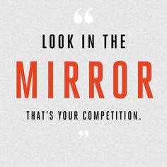 LOOK IN THE MIRROR,