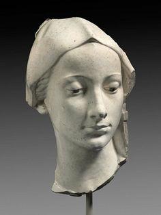 Andrea Della Robbia - Head of the Virgin - Boston MFA