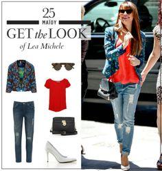 Get the look: Το μοντέρνο casual look της Lea Michele