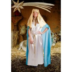 Disfraz de Virgen María Navidad Nativity Costumes, Fancy, Torrente, Homecoming Dresses, Drama, Christmas, Fashion, Carnival, Masquerade Party Themes