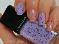 #illamasqua #scarce #speckle #nailpolish #glitter