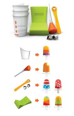 Zoku tools for making great pops