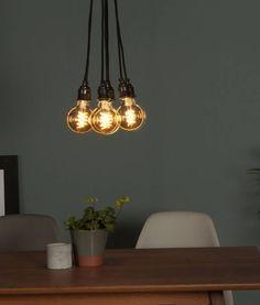 Love these IKEA LED retro copper colour globe bulbs! NITTIO E27 ...