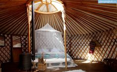 Luxury Yurt Hire Portugal