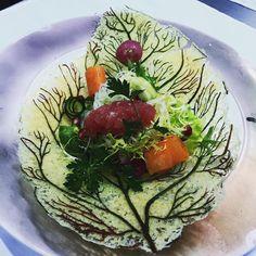 Tartare on a plate of parmigiano.  #interdema #food #cuisine #foodpresentation #italianchief #lifestyle #стильжизни