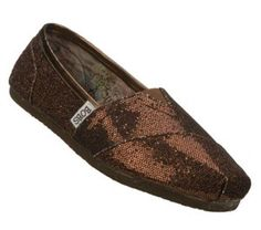 Women's Skechers Bobs Earth Mama - Bronze Bronze