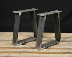 Industrial X Shape Metal Table, wrought iron table legs, industrial table base SET of 2 Coffee Table Legs Metal, Steel Table Legs, Coffee Table Base, Kitchen Table Legs, Dining Table Legs, Table Bench, Bench Legs, Desk Legs, Sleeper Table