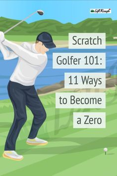 Of course a scratch golfer has a better swing than you and I, but they also think a little different than the rest of us. Here's how to copy the mindset of scratch golfers and lower your handicap in the process. Golf Tools, Golf Gadgets, Golf Basics, Golf Instructors, Golf Score, Golf Practice, Golf Videos, Golf Putting, Golf Exercises