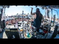 Top 10 Hard Rock and Heavy Metal Drummers - YouTube