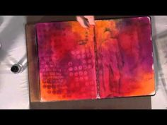 Dyan Reaveley Introduces The Perfect Inked Background. Another video with Dyan showing how to produce a good background with her inks. I learn something new every time I watch it.