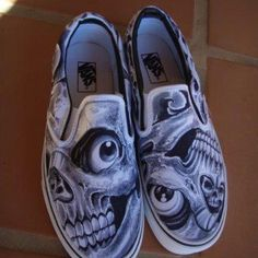 Hand painted Vans - Sullen Clothing